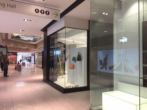 Matt & Nat Store, Rideau Centre, Steric Design & General Contracting