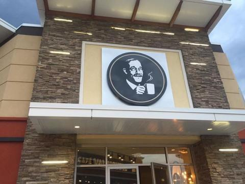 Cafe Van Houtte, Tanger Outlets, Steric Design & General Contracting